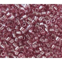 8/0 Miyuki Delica Seed Beads, Transparent Light Purple, 10 Gram Bag