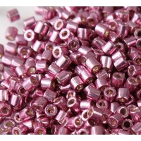 8/0 Miyuki Delica Seed Beads, Galvanized Dusty Orchid, 10 Gram Bag