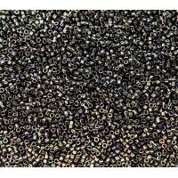 11/0 Miyuki Delica Seed Beads, Rainbow Metallic Bronze, 5 Gram Bag