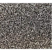 11/0 Miyuki Delica Seed Beads, Nickel Plated, 7.2 Gram Tube