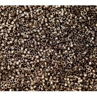 11/0 Miyuki Delica Seed Beads, Metallic Bronze, 7.2 Gram Tube