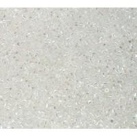 11/0 Miyuki Delica Seed Beads, Rainbow Crystal, 5 Gram Bag