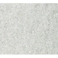11/0 Miyuki Delica Seed Beads, Opaque White Pearl, 6.8 Gram Tube