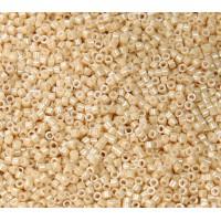 11/0 Miyuki Delica Seed Beads, Dark Flesh Luster