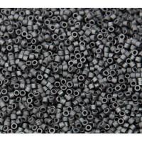 11/0 Miyuki Delica Seed Beads, Matte Black, 7.2 Gram Tube