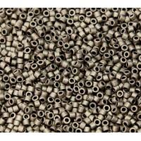 11/0 Miyuki Delica Seed Beads, Matte Metallic Bronze, 5 Gram Bag