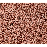 11/0 Miyuki Delica Seed Beads, Matte Copper Plated, 5 Gram Bag