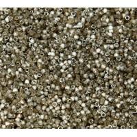 11/0 Miyuki Delica Seed Beads, Satin Luster Variegated Taupe, 6.2 Gram Tube