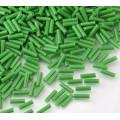 6mm Miyuki Bugle Seed Beads, Opaque Green, 10 Gram Bag