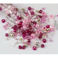 Toho Seed Bead Mix, Sakura Cherry, 5.5 Inch Vial