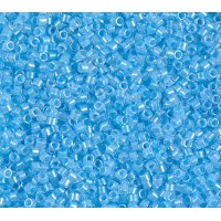 11/0 Miyuki Delica Seed Beads, Luminous Ocean Blue