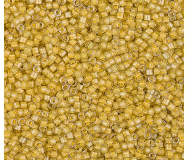 11/0 Miyuki Delica Seed Beads, Luminous Honeycomb, 6 Gram Bag
