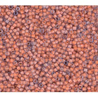11/0 Miyuki Delica Seed Beads, Luminous Sea Coral