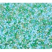 11/0 Miyuki Delica Seed Beads, Luminous Mermaid Mix