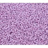 11/0 Miyuki Delica Seed Beads, Duracoat Crocus Purple