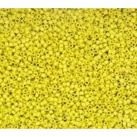 11/0 Miyuki Delica Seed Beads, Matte Glazed Pineapple Crush, 7.2 Gram Tube