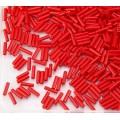 6mm Miyuki Bugle Seed Beads, Opaque Dark Red, 10 Gram Bag