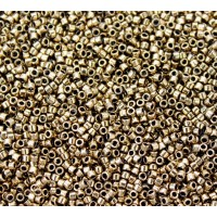 11/0 Toho Treasure Seed Beads, Metallic Bronze, 5 Gram Bag
