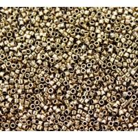 11/0 Toho Treasure Seed Beads, Metallic Bronze, 5 Gram Bag