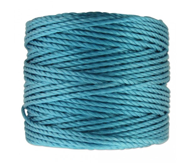 S-Lon Heavy Tex 400 Cord (0.9mm), Bermuda Blue, 35 Yard Spool