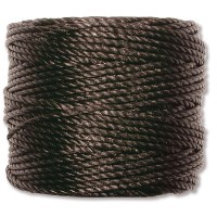S-Lon Heavy Tex 400 Cord (0.9mm), Black, 35 Yard Spool