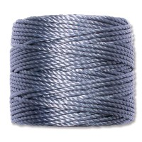 S-Lon Heavy Tex 400 Cord (0.9mm), Blue, 35 Yard Spool
