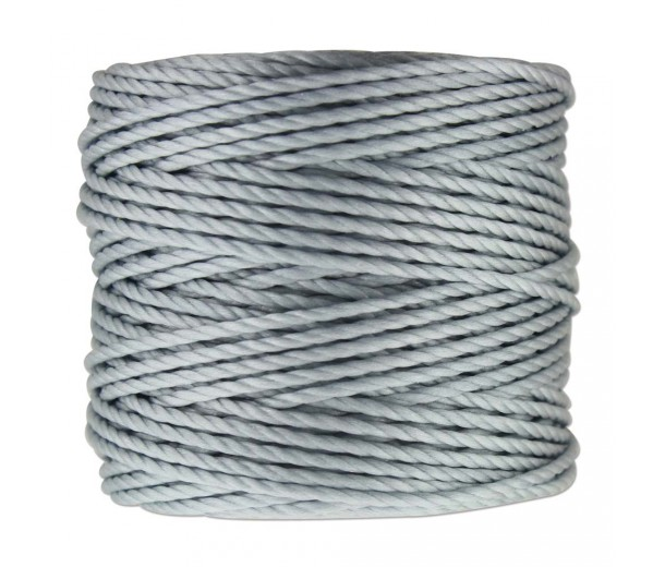 S-Lon Heavy Tex 400 Cord (0.9mm), Misty Grey, 35 Yard Spool