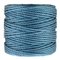 S-Lon Heavy Tex 400 Cord (0.9mm), Carolina Blue, 35 Yard Spool