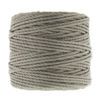 S-Lon Heavy Tex 400 Cord (0.9mm), Cocoa Grey, 35 Yard Spool
