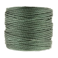 S-Lon Heavy Tex 400 Cord (0.9mm), Moss Green, 35 Yard Spool