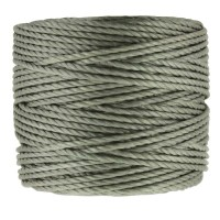 S-Lon Heavy Tex 400 Cord (0.9mm), Gunmetal Grey, 35 Yard Spool