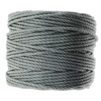 S-Lon Heavy Tex 400 Cord (0.9mm), Macrame Grey, 35 Yard Spool