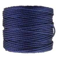 S-Lon Heavy Tex 400 Cord (0.9mm), Hyacinth Blue, 35 Yard Spool