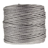 S-Lon Heavy Tex 400 Cord (0.9mm), Steel Grey, 35 Yard Spool