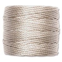 S-Lon Heavy Tex 400 Cord (0.9mm), Light Grey, 35 Yard Spool
