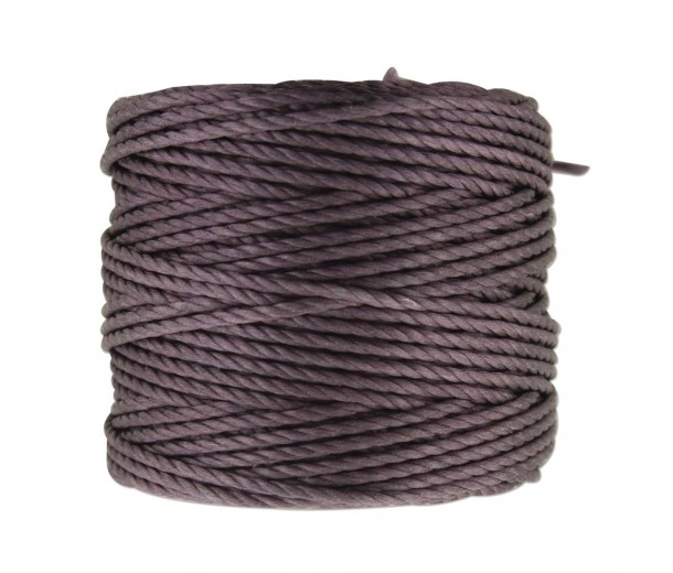 S-Lon Heavy Tex 400 Cord (0.9mm), Lilac, 35 Yard Spool