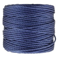 S-Lon Heavy Tex 400 Cord (0.9mm), Periwinkle Blue, 35 Yard Spool