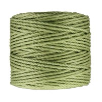 S-Lon Heavy Tex 400 Cord (0.9mm), Peridot Green, 35 Yard Spool