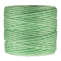 S-Lon Heavy Tex 400 Cord (0.9mm), Pastel Green, 35 Yard Spool