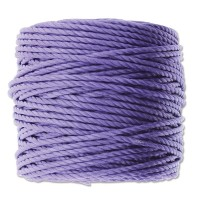 S-Lon Heavy Tex 400 Cord (0.9mm), Violet Purple, 35 Yard Spool