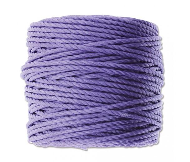 S-Lon Heavy Tex 400 Cord (0.9mm), Violet Purple, 35 Yard Spool