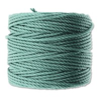 S-Lon Heavy Tex 400 Cord (0.9mm), Jade Green, 35 Yard Spool
