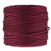 S-Lon Heavy Tex 400 Cord (0.9mm), Magenta, 35 Yard Spool