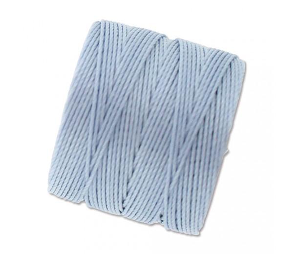 S-Lon Regular Tex 210 Bead Cord (0.5mm), Light Blue, 77 Yard Spool