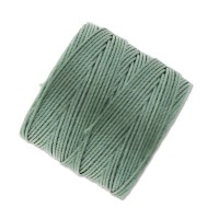 S-Lon Regular Tex 210 Bead Cord (0.5mm), Celery Green, 77 Yard Spool