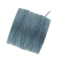 S-Lon Regular Tex 210 Bead Cord (0.5mm), Ice Blue, 77 Yard Spool