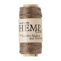 0.5mm Light Brown Natural Hemp Cord by Hemptique