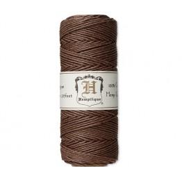 1mm Dark Brown Polished Hemp Cord by Hemptique