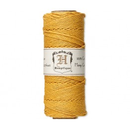 1mm Gold Polished Hemp Cord by Hemptique