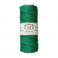 1mm Green Polished Hemp Cord by Hemptique